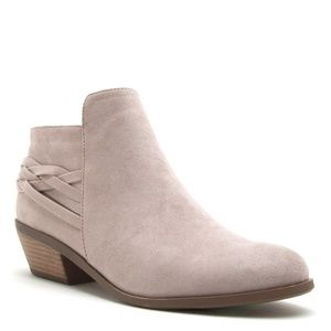 Shoes - Taupe Pointed Toe Bootie Perfect for Fall 
